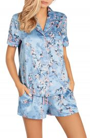 In Bloom by Jonquil Satin Short Pajamas   Nordstrom at Nordstrom