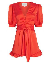 Indira Silk Romper at Intermix