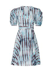 Indra Cotton Poplin Mini Wrap Dress by Diane von Furstenberg at Rent The Runway