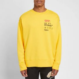 Industrial Yellow Y13 Sweatshirt by Off-White at End Clothing