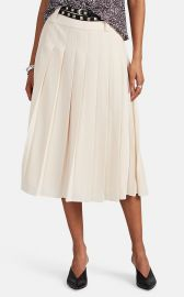 Ines Pleated Belted Midi-Skirt by Les Coyotes de Paris at Barneys