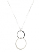 Infinity necklace by Peggy Li at Peggy Li