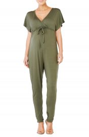 Ingrid  amp  Isabel   Crossover Maternity Jumpsuit at Nordstrom