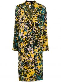 Ink Splatter Print Coat by M Missoni at Farfetch
