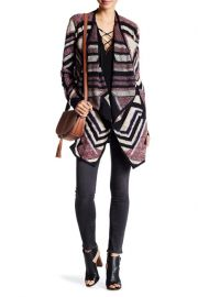 Intarsia knit cardigan by Lucky Brand at Nordstrom Rack