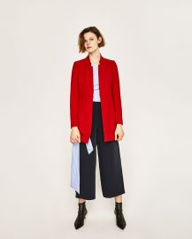 Inverted Lapel Frock Coat at Zara