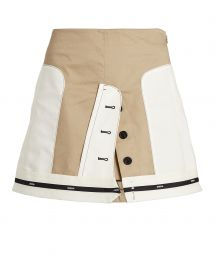 Inverted Twill Mini Skirt by Monse at Intermix