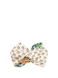 Invite and flowers-print silk headband at Matches