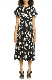 Iris Print Georgette Dress by Proenza Schouler at Nordstrom