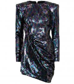 Iris sequined mini dress at Mytheresa