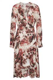 Iro - Garden Floral Wrap Dress at Stylebop