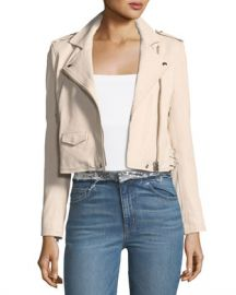 Iro Ashville Leather Moto Jacket at Neiman Marcus