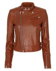 Iro luciana leather jacket    at Intermix