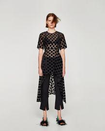 Irregular Polka Dot Top by Zara at Zara