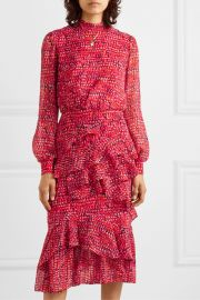 Isa Dress by Saloni at Net A Porter