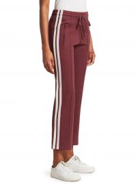 Isabel Marant Etoile - Dobbs Racing Stripe Pintuck Track Pants at Saks Fifth Avenue