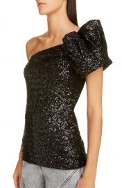 Isabel Marant One Shoulder Sequin Top   Nordstrom at Nordstrom