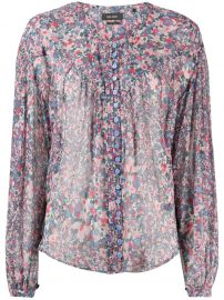 Isabel Marant Orionea printed blouse Orionea printed blouse at Farfetch