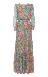 Isabel Long Dress by Saloni at Moda Operandi