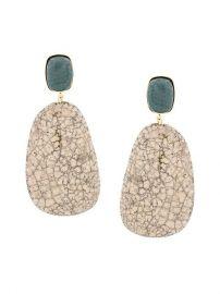Isabel Marant   201 toile Stone Drop Earrings at Farfetch