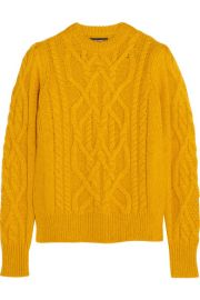 Isabel Marant   Gayle cable-knit alpaca-blend sweater at Net A Porter