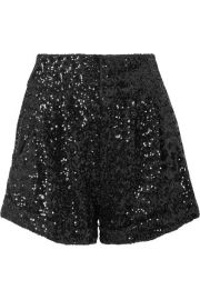 Isabel Marant - Orta sequined crepe shorts at Net A Porter