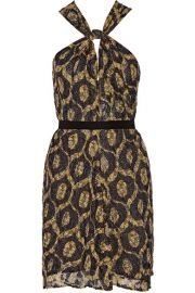 Isabel Marant - Tevy devor  -chiffon mini dress at Net A Porter