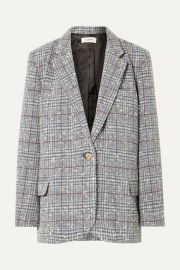 Isabel Marant   toile - Kice checked wool-blend boucl   blazer at Net A Porter