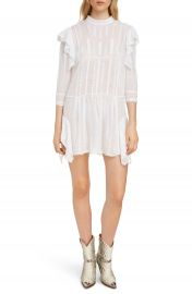 Isabel Marant   toile Alba Embroiered Ruffle Dress   Nordstrom at Nordstrom