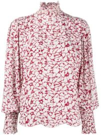 Isabel Marant   toile Catchelae Floral Print Blouse - Farfetch at Farfetch