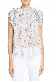 Isabel Marant   toile Erell Print Silk Top   Nordstrom at Nordstrom