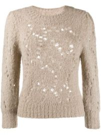 Isabel Marant   toile Knitted Sweatshirt - Farfetch at Farfetch