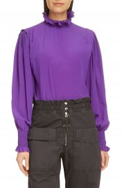 Isabel Marant   toile Yoshi Puff Sleeve Top   Nordstrom at Nordstrom