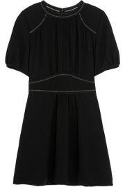 Isabel Marant  Wana stretch-crepe mini dress at Net A Porter