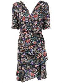 Isabel Marant Arodie Floral Mini Dress - Farfetch at Farfetch