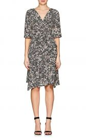 Isabel Marant Brodie Floral Silk-Blend Dress at Barneys