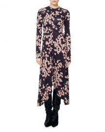 Isabel Marant Diana Cherry Blossom Jersey Midi Dress   Neiman at Neiman Marcus
