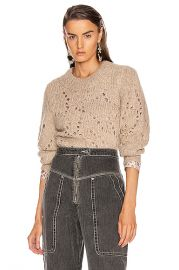Isabel Marant Etoile Sineady Sweater in Beige   FWRD at Forward