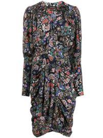 Isabel Marant Floral Print Shirt Dress - Farfetch at Farfetch