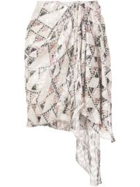 Isabel Marant Knotted Side Skirt - Farfetch at Farfetch
