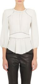 Isabel Marant Open-Stitched Wiley Blouse at Barneys