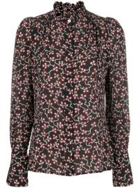 Isabel Marant Printed Lamia Blouse - Farfetch at Farfetch