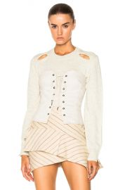 Isabel Marant Pryam Corset in Ecru at Forward
