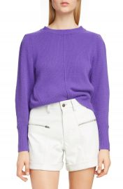 Isabel Marant Puff Sleeve Cashmere Sweater   Nordstrom at Nordstrom