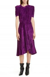 Isabel Marant Puff Sleeve Corduroy Dress   Nordstrom at Nordstrom