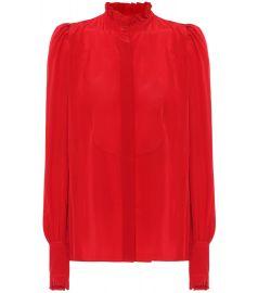 Isabel Marant Sloan silk blouse at My Theresa