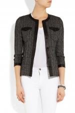 Isabel Marant grey tweed jacket at Net A Porter