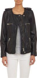 Isabel Marant toile Leather Bacuri Moto Jacket at Barneys