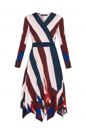 Isabella Asymmetrical Wrap Dress at BCBGMAXAZRIA