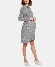 Isabella Oliver Maternity Belted Shirtdress   Reviews - Maternity - Women - Macy s at Macys